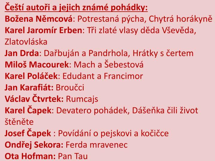 Čeští