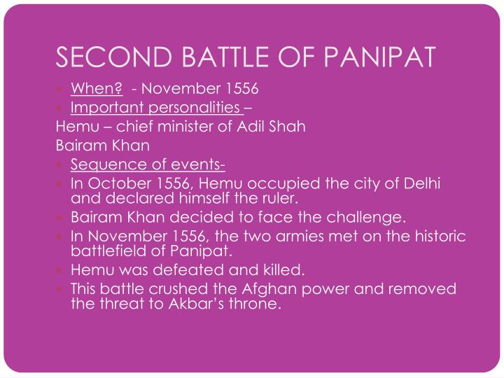 second battle of panipat First battle of panipat (1526) second battle of panipat (1556) third battle of obelisk commemorated to the third battle of panipat panipat museum panipat.