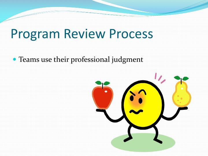 Program Review Process