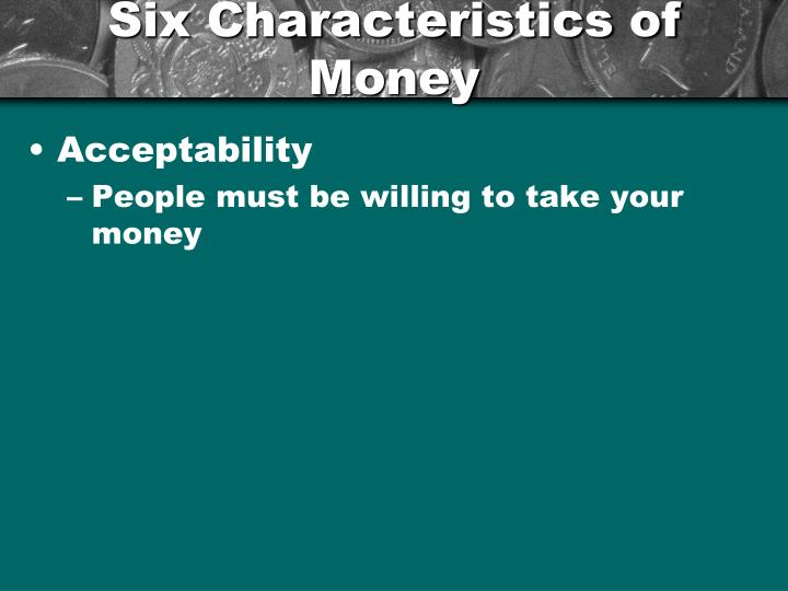 Ppt chapter 10 money and banking powerpoint for 6 characteristics of bureaucracy