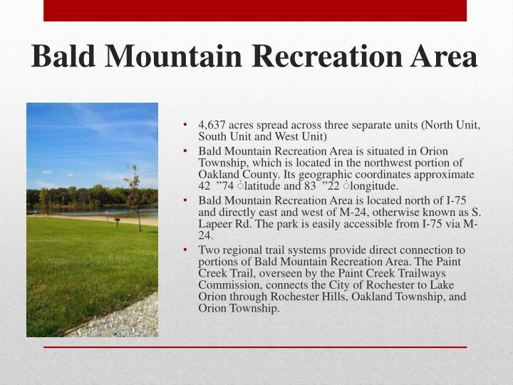 Bald Mountain Recreation Area