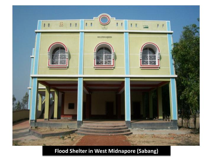 Flood Shelter in West