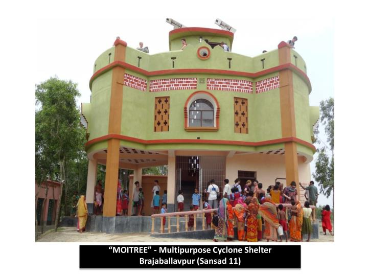 """MOITREE"" - Multipurpose Cyclone Shelter"
