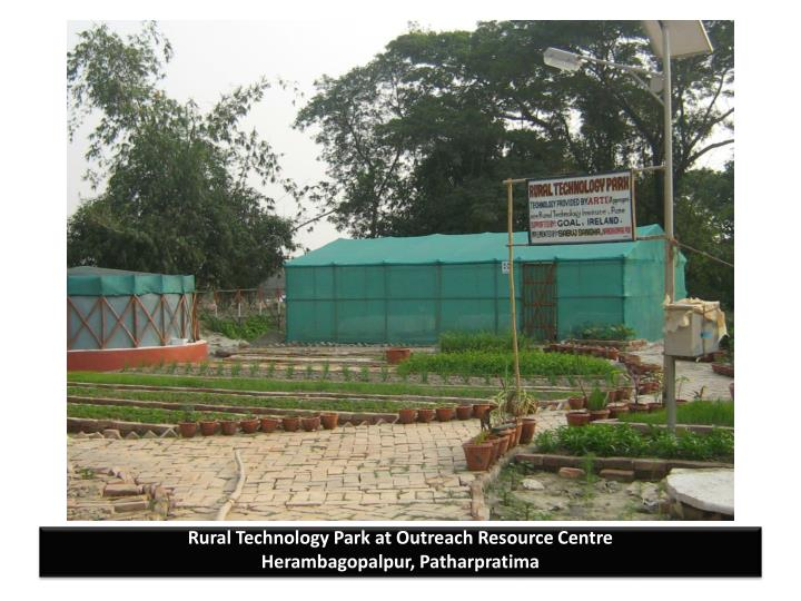 Rural Technology Park at Outreach Resource Centre