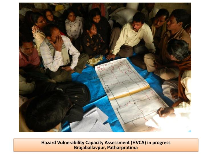 Hazard Vulnerability Capacity Assessment (HVCA) in progress