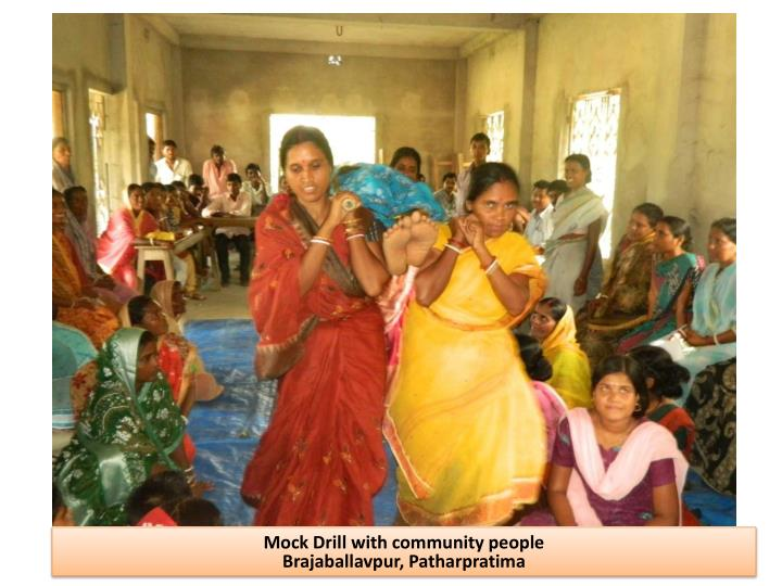 Mock Drill with community people