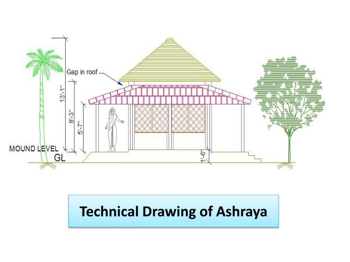 Technical drawing of ashraya