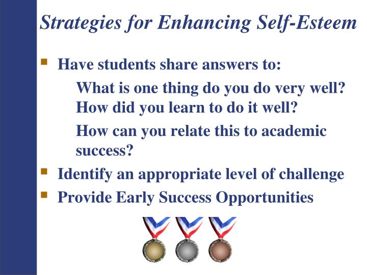 Strategies for Enhancing Self-Esteem