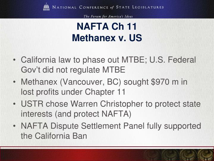 NAFTA Ch 11