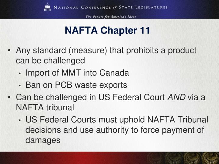 NAFTA Chapter 11
