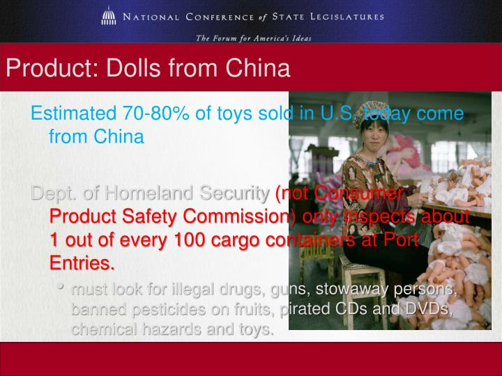 Product: Dolls from China