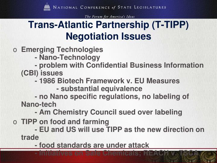 Trans-Atlantic Partnership (T-TIPP)