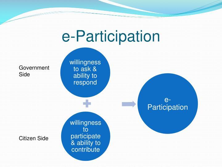 e-Participation
