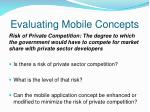 evaluating mobile concepts4