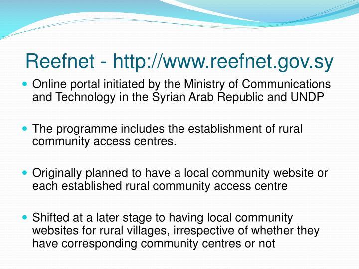 Reefnet