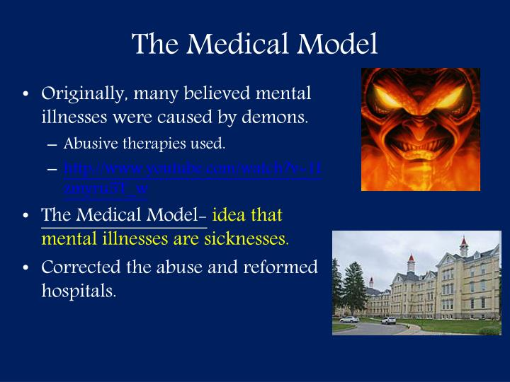The medical model