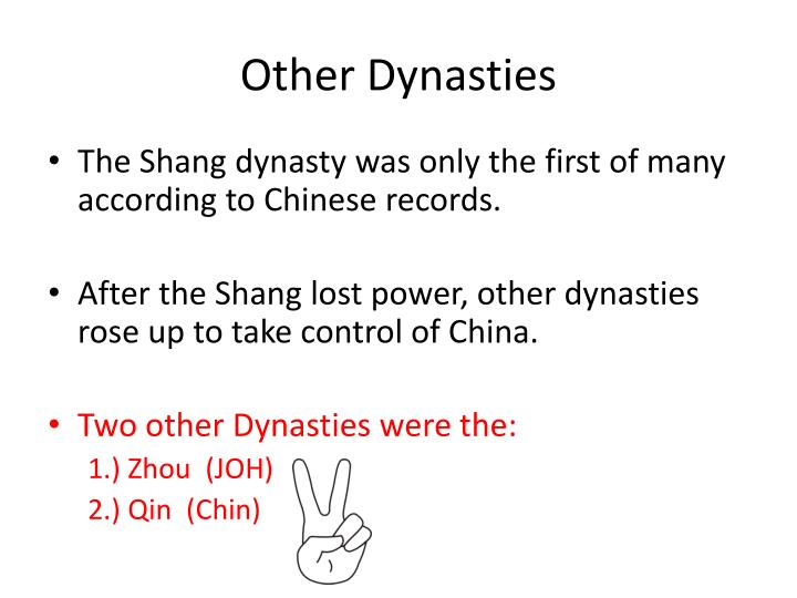 Other Dynasties