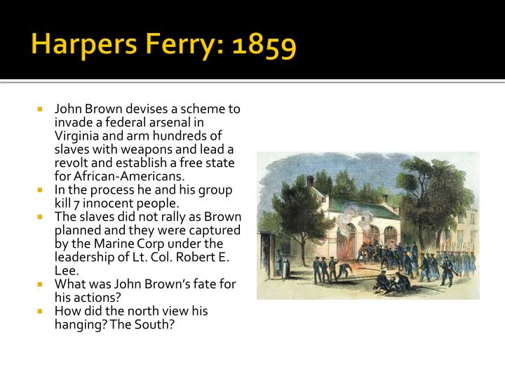 Harpers Ferry: 1859