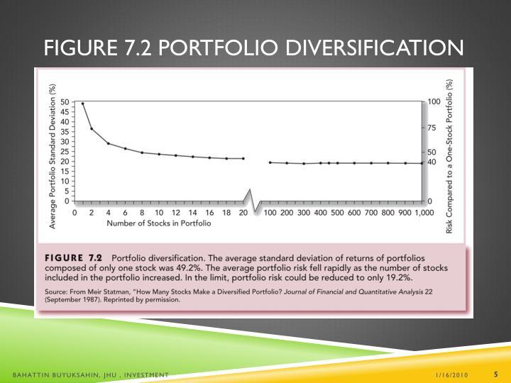 Figure 7.2 Portfolio Diversification