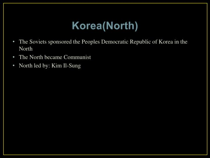Korea(North)