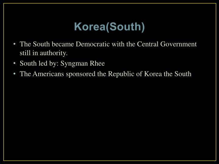 Korea(South)
