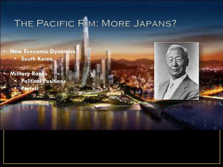 The Pacific Rim: More Japans?