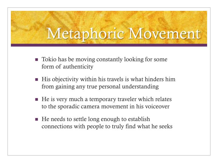 Metaphoric Movement