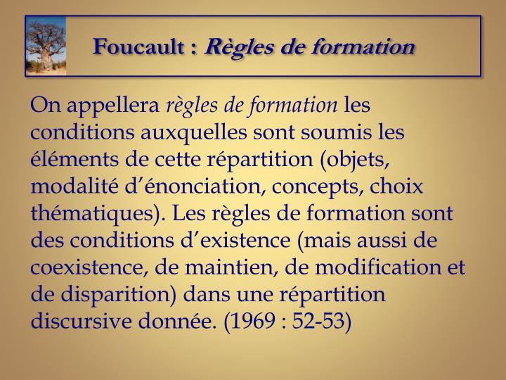 Foucault :