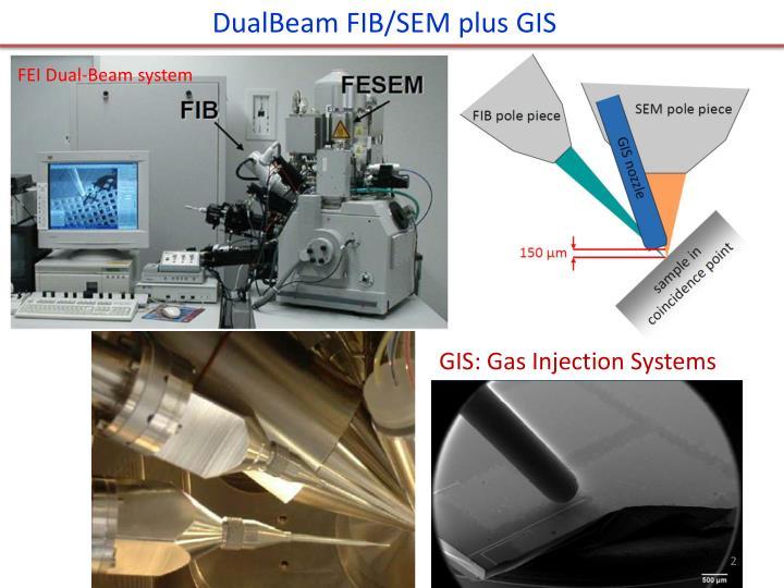 DualBeam FIB/SEM plus GIS