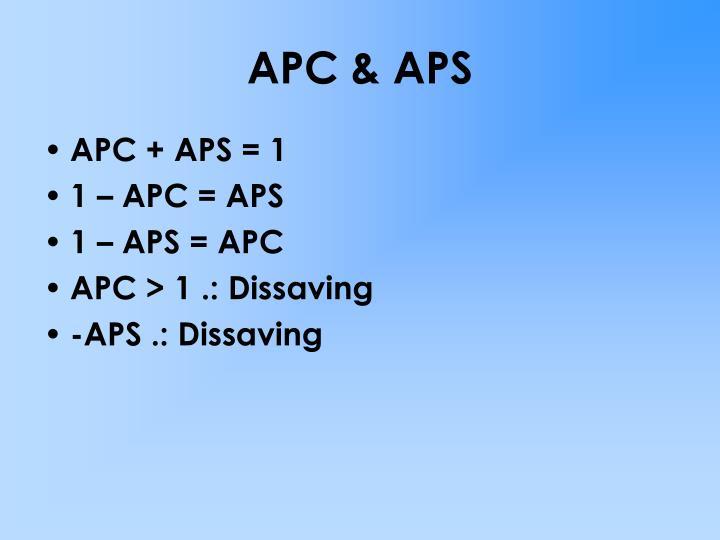 APC & APS