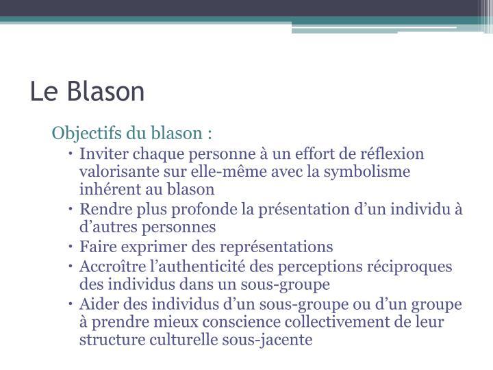 Le Blason
