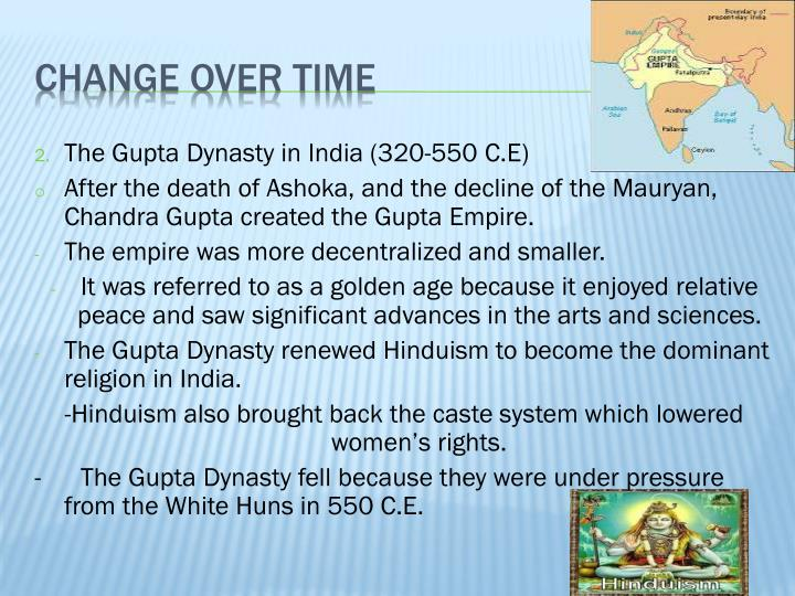 The Gupta Dynasty in India (320-550 C.E)