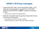 apnic s ipv6 key messages1