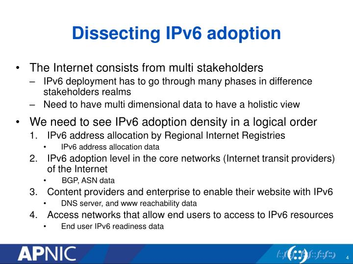 Dissecting IPv6 adoption