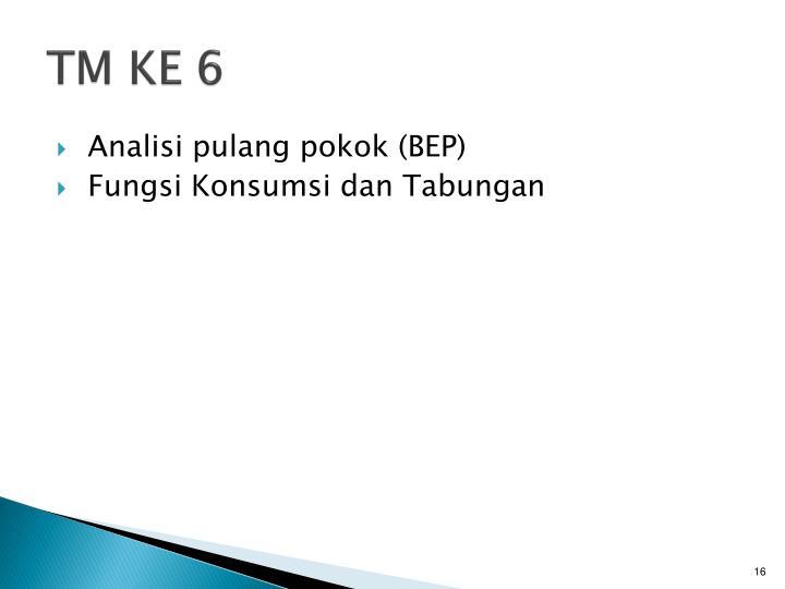 TM KE 6