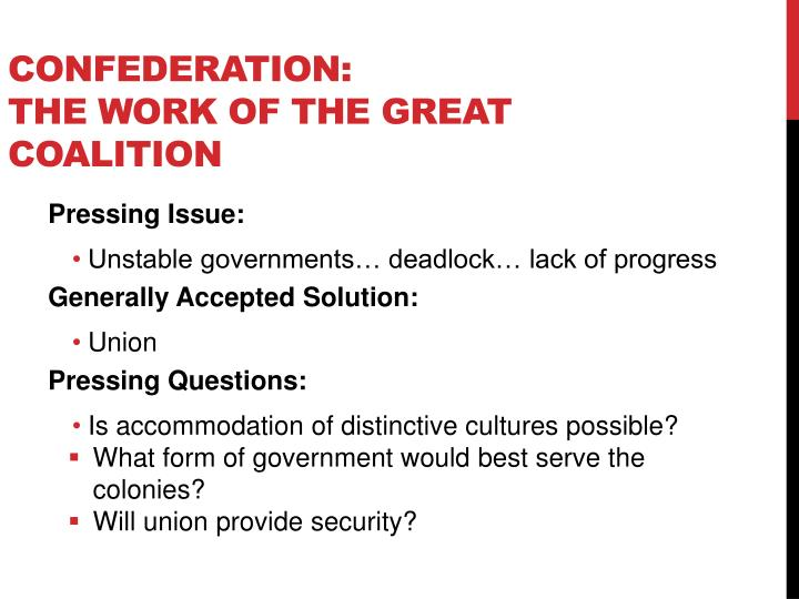 Confederation: