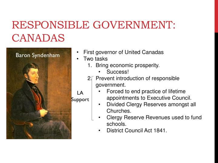 Responsible Government: