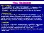 new modalities