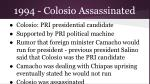 1994 colosio assassinated