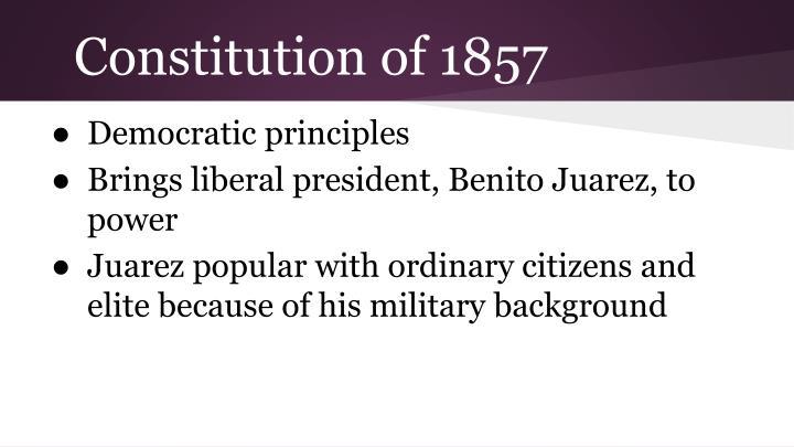 Constitution of 1857