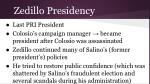 zedillo presidency