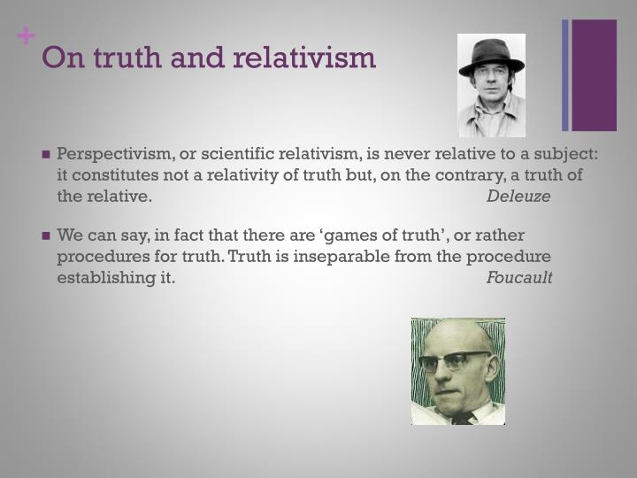 On truth and relativism