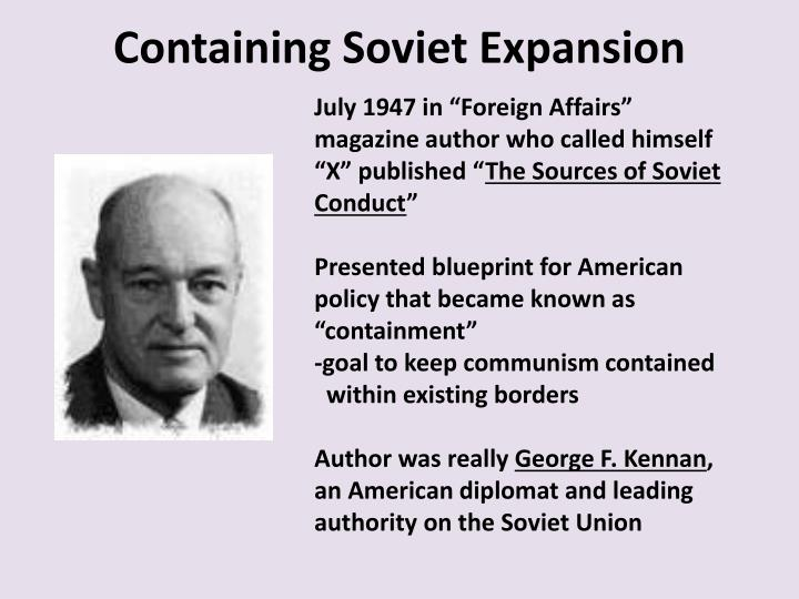Containing Soviet Expansion