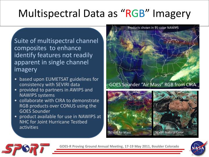 Multispectral Data as ""