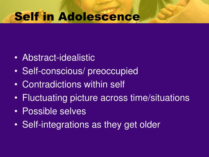 Self in Adolescence