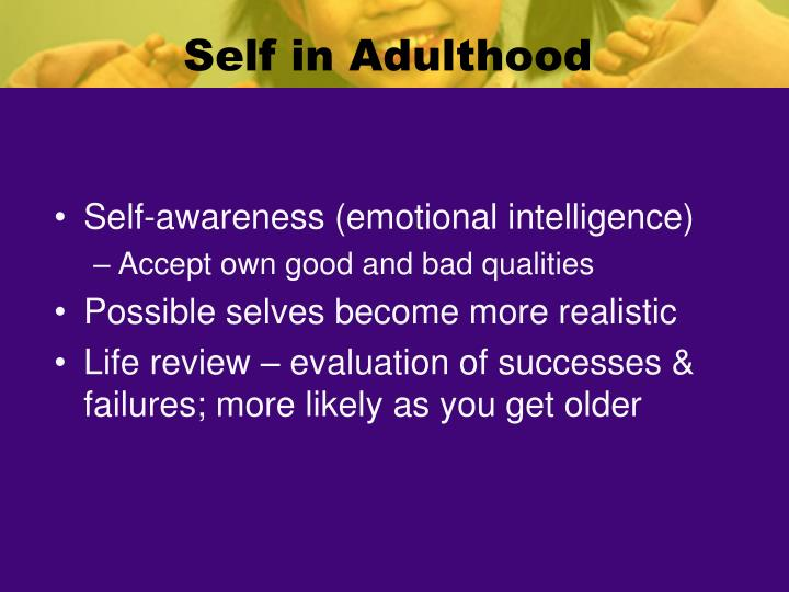 Self in Adulthood