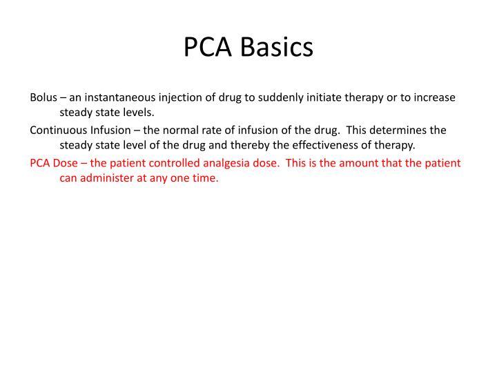 PCA Basics