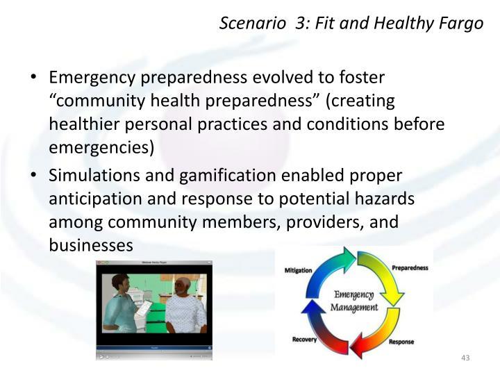 Scenario  3: Fit and Healthy Fargo