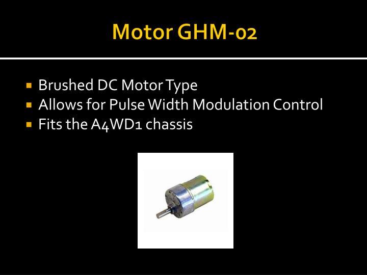 Motor GHM-02