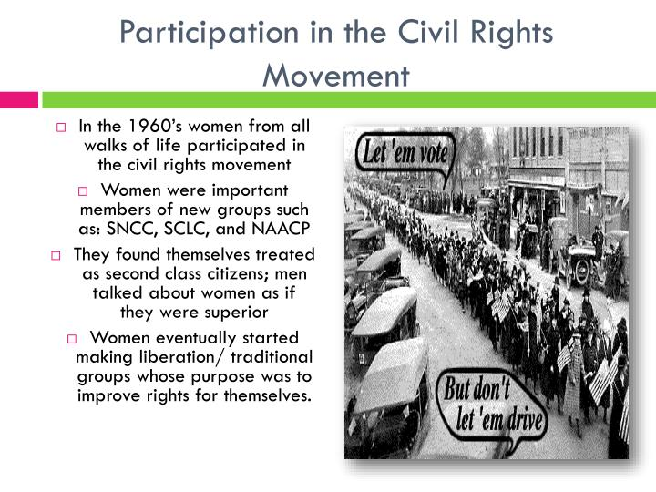 Participation in the Civil Rights Movement